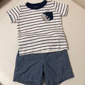 Carter's boys 2pc outfit